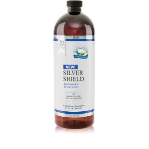 Silver Shield Liquid - 20 ppm - 32 fl oz 21488 NSP